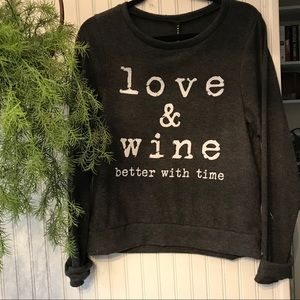 Love and wine are better with time
